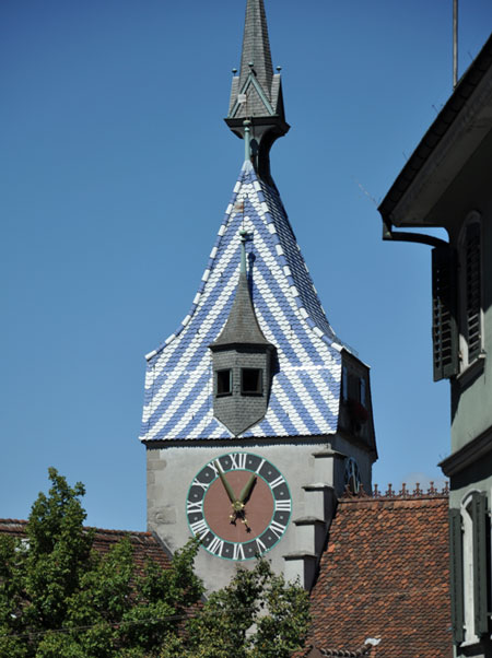 Zytturm clock tower  © Louise Mangos