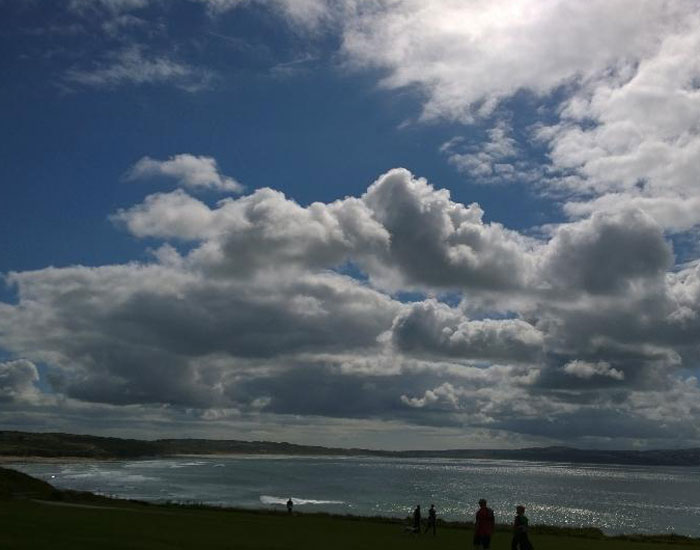 Gwithian Beach from Godrevy ©Miranda-Dickinson