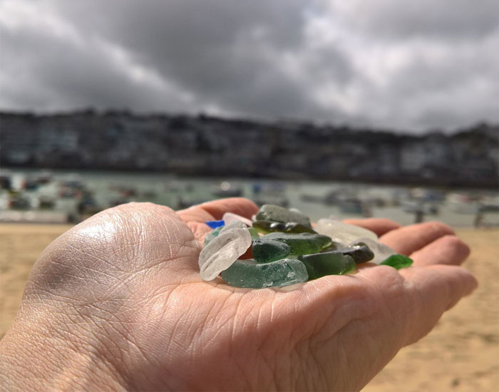 St Ives Seaglass overlooking the harbour ©Miranda-Dickinson