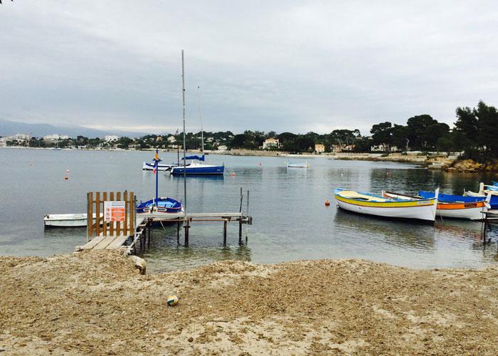 Fisherman's beach cap-d'antibes (c) Tamar Cohen