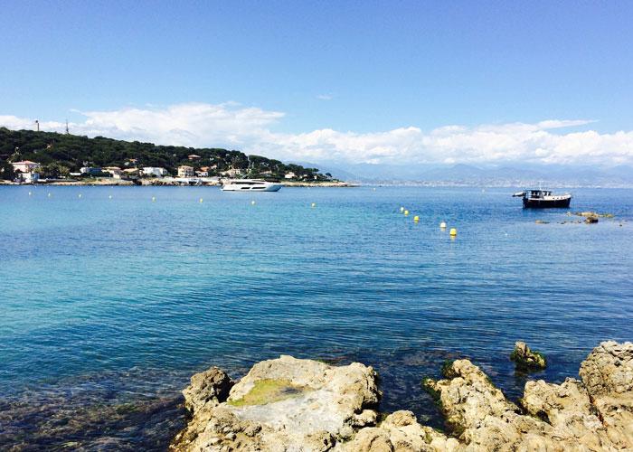 View from Garoupe beach (c)Tamar Cohen