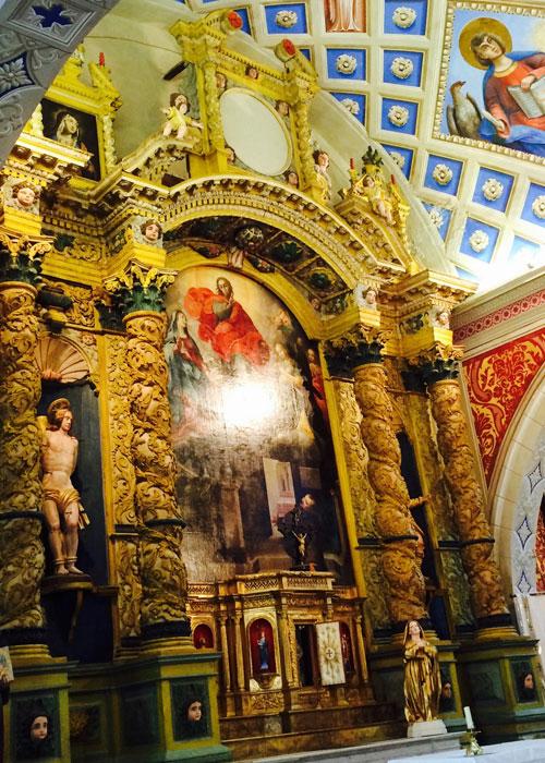 The little chapel st-bernardin in antibes (c)Tamar Cohen