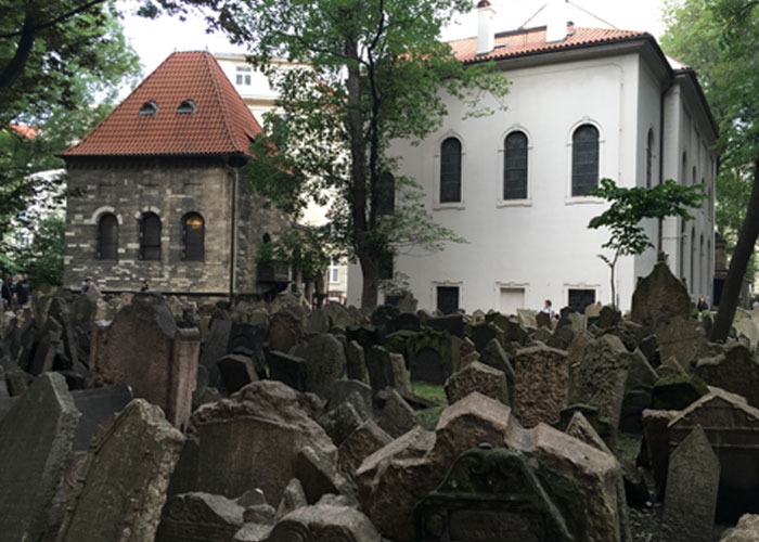 The Jewish Graveyard (c) Rosie Sherwood.