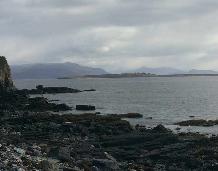 Irishman's Point. Broadford Bay (c) Anna Mazzola