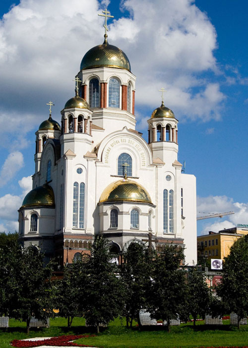 The church where Ipatiev House once stood (c)Wikipedia