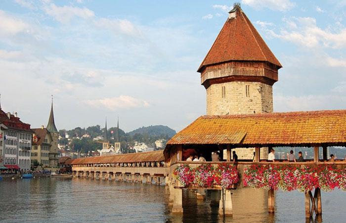Kapellbrücke, Lucerne Switzerland
