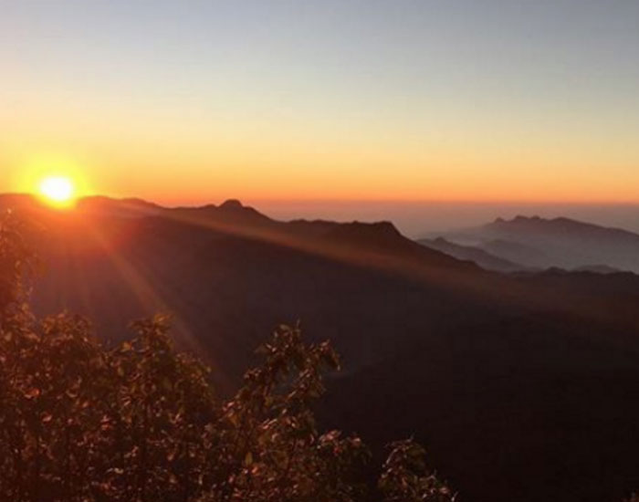Adams Peak Summit (c) Isabelle Broom