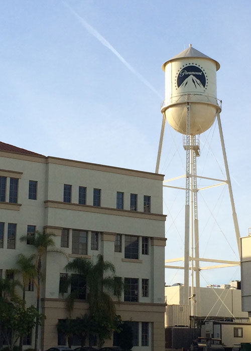 Paramount lot today (c) Guy Bolton