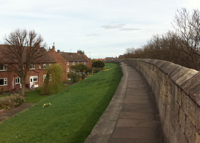York City Walls (c) TheBookTrail