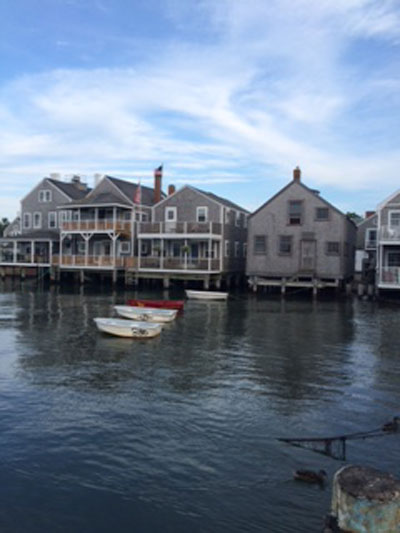 Nantucket Waterfront (c) Elizabeth Lowry