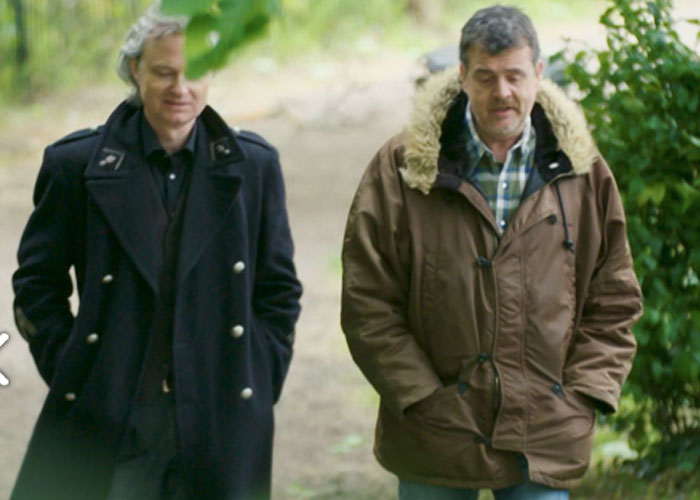 Simon Toyne and Mark Billingham (c) CBS Reality