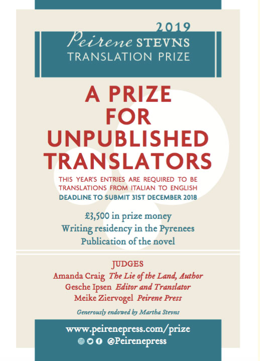 Peirene Press Translation Prize