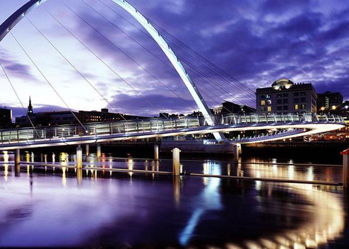 The Blinky Eye Bridge (c) Howard Linskey