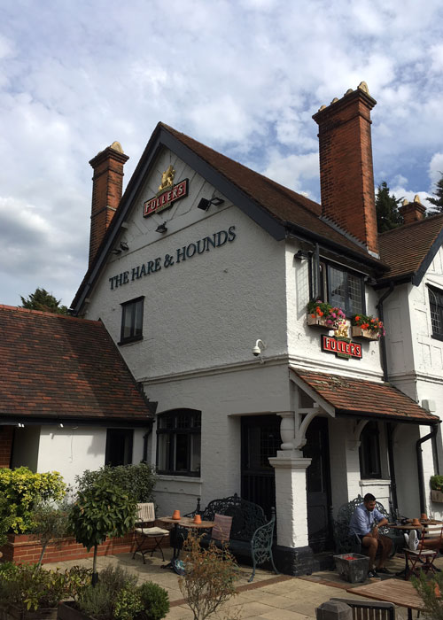 The Hare and Hounds (c) Amer Anwar