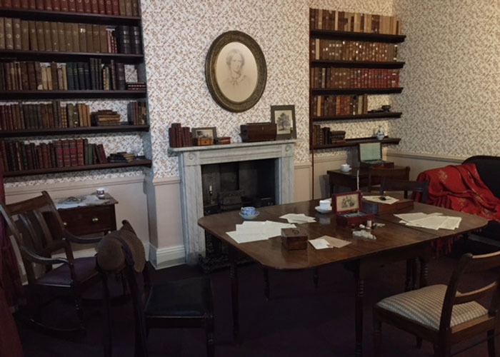 The room where the sisters wrote their novels (c) TheBookTrail
