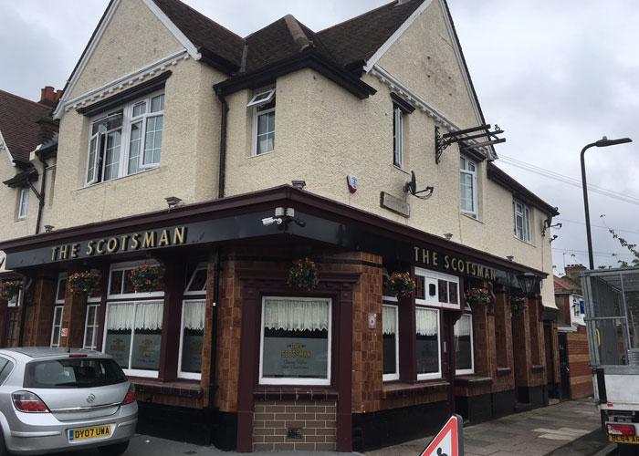 The Scotsman pub, London (c) Amer Anwar