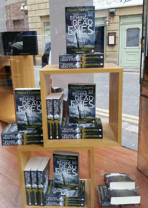 Books in Waterstones Newcastle (c) Howard Linskey