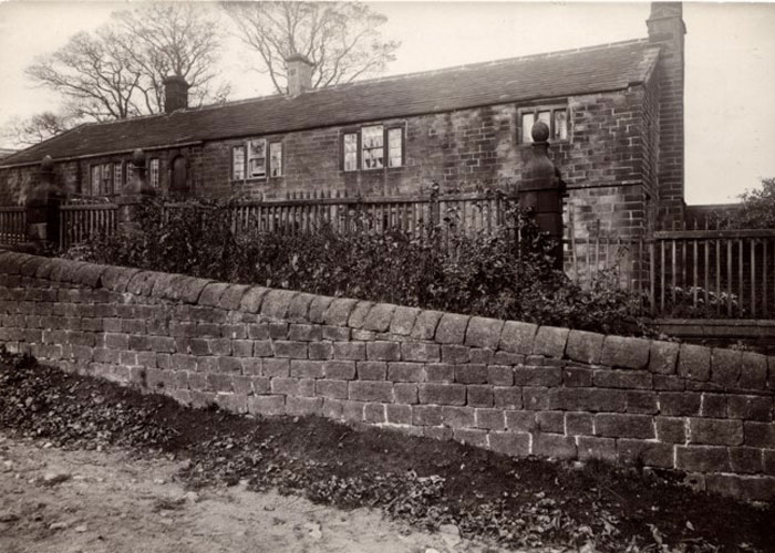 Ponden Hall as it was (c) Frances Brody