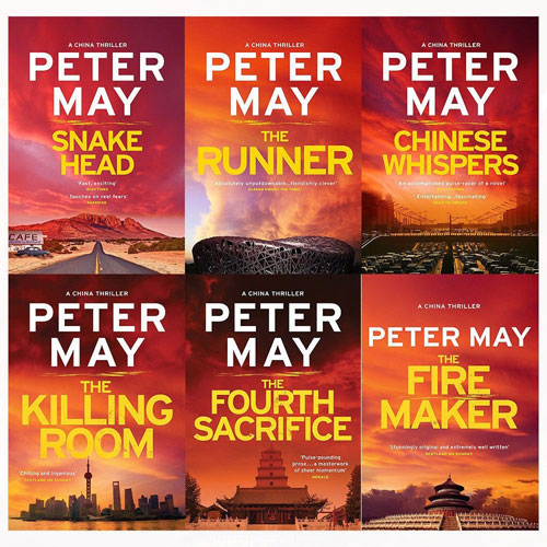 Peter may china thrillers