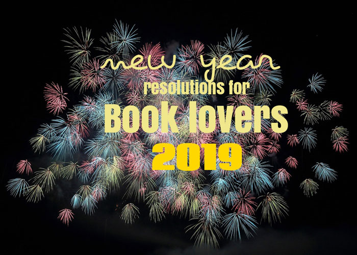 New Years Resolutions for book lovers