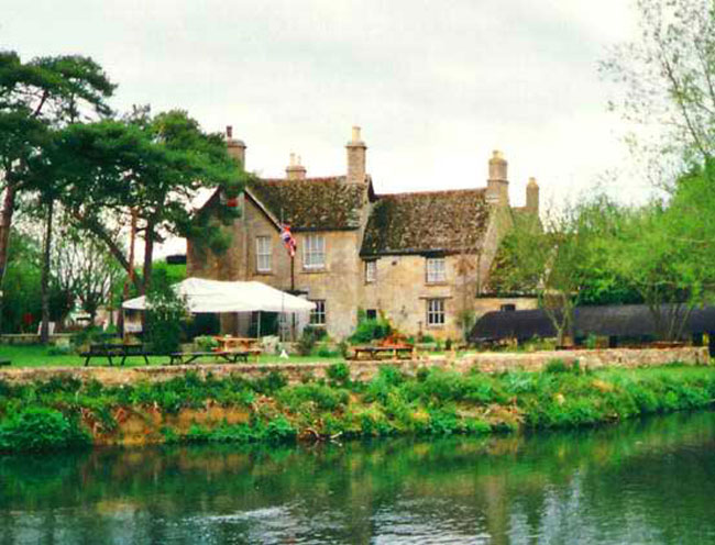 The Swan Inn at Radcot (c) Where Thames Smooth Waters Glide