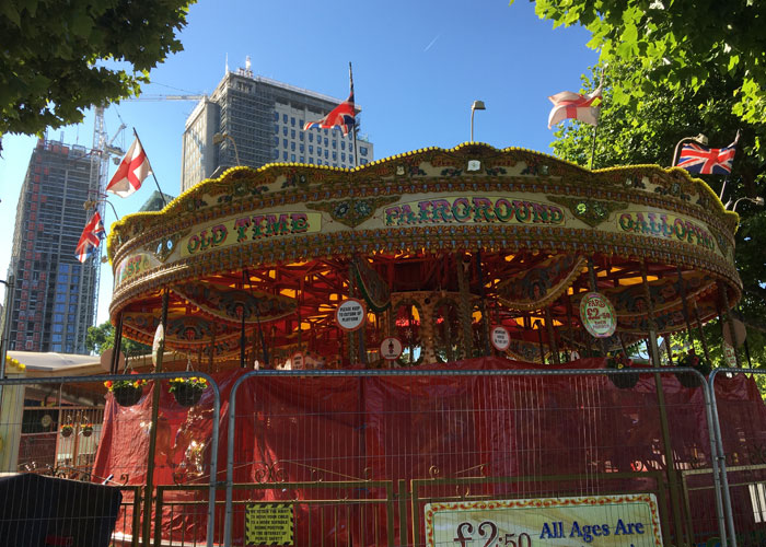 Fairground in London (c) Lauren Westwood
