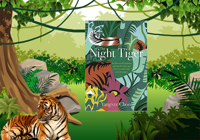 Book set Malaya - The Night TIger by Yangsze Choo