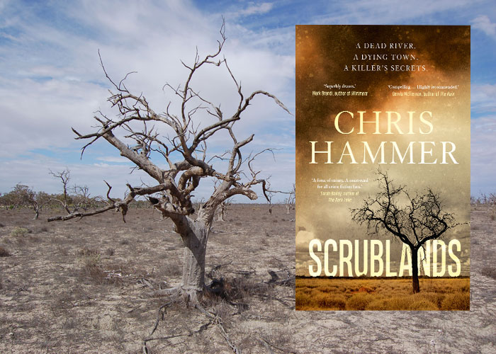 Literary landscape of Scrublands (c) Chris Hammer