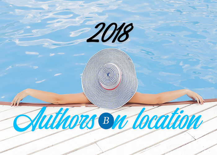 Authors on location 2018