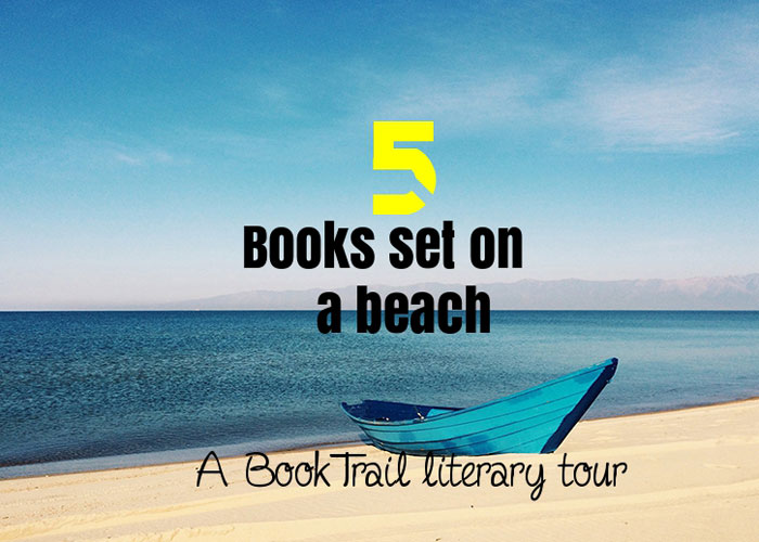 Books set on a beach - BookTrail Literary Tour