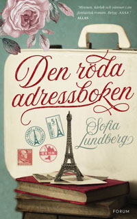 The Red Address Book Swedish cover
