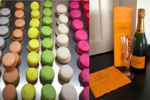 bubbles and macaroons - (c) Carol Wyer