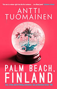 Books set on the beach - Palm Beach Finland - Antti Tuomainen