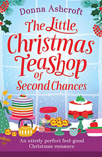 Books with a foodie twist - Christmas tea shop