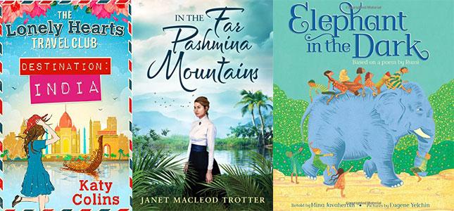 Three books set in India