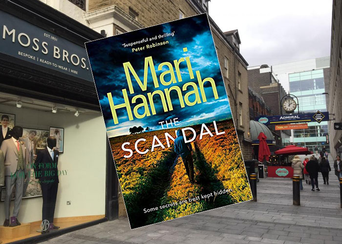Book set in Newcastle The Scandal by Mari Hannah