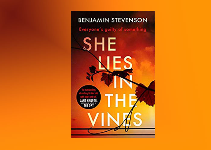 This is a thriller set in NSW - She Lies in the Vines by Benjamin Stevenson