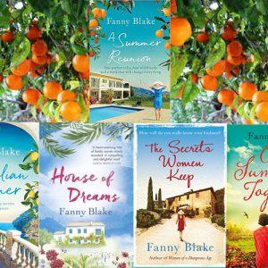 Fanny Blake's Literary locations