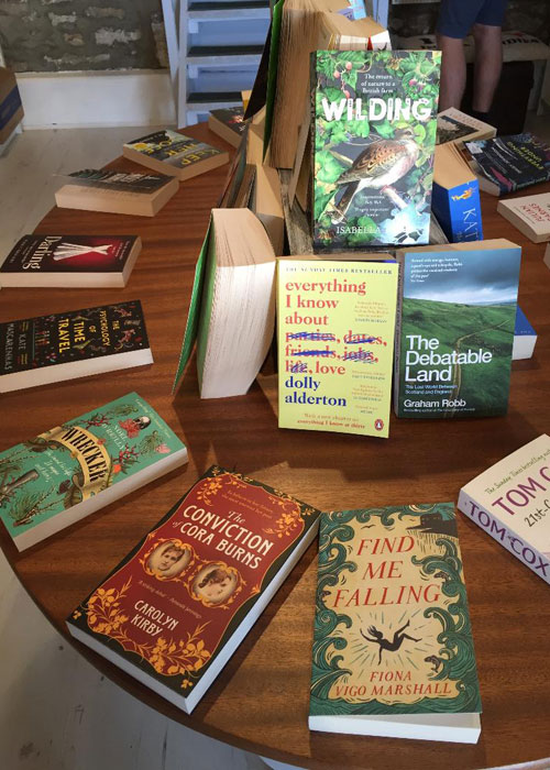 The Stripey Badger Bookshop (c) TheBookTrail