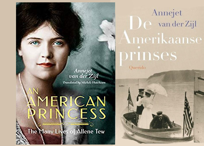 Novel set in New York - An American Princess by Annejet van der Zijl