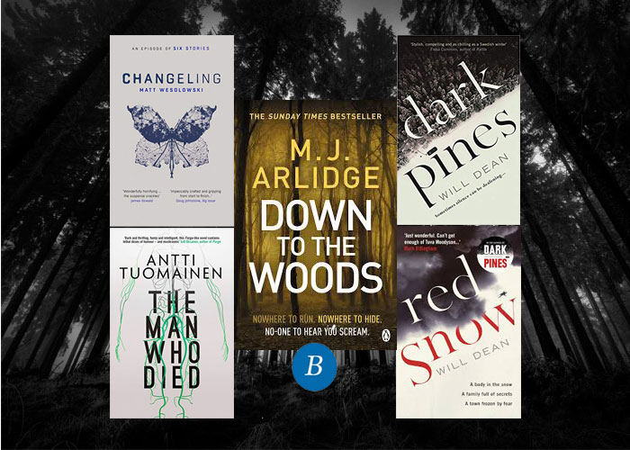 Five books set in the woods