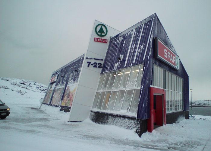 Nuuk corner shop! (c) Christoffer Petersen