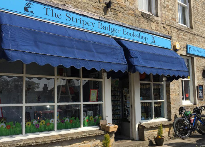 The Stripey Badger Bookshop (c) TheBookTrail