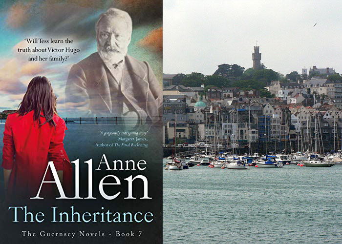 Books set on Guernsey - The Inheritance Anne Allen