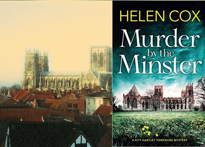 Mystery set in York - Murder by the Minster by Helen Cox