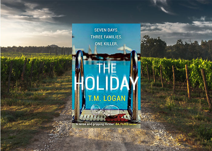 The Holiday in Languedoc France by T M Logan