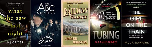 Books set on trains