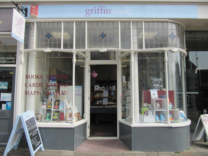 Griffin Books (c) Penarth Times