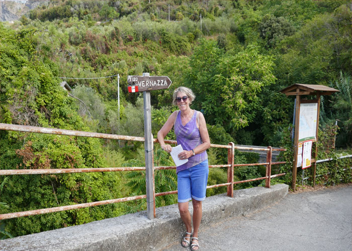 Rosanna Ley Travels to Cinque Terre, Italy and the Lemon Tree Hotel