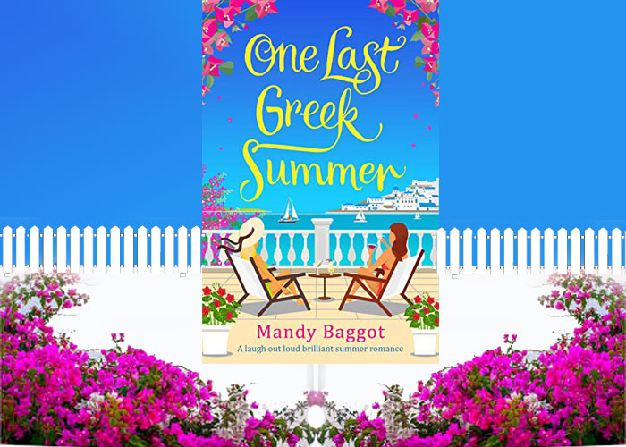 Bookreview - One Last Greek Summer by Mandy Baggot
